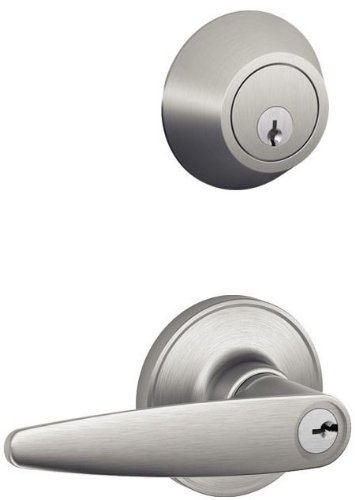 An image related to Schlage JC60V DOV 630 Entry Satin Lever Lockset Lock