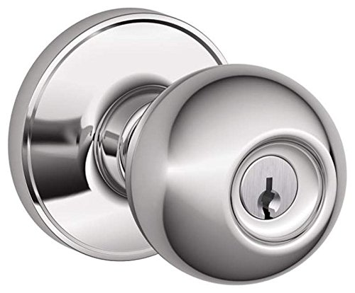 An image related to Schlage J54CNA619 Entry Chrome Effect Lock