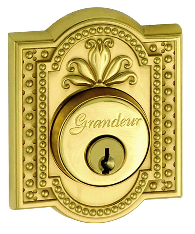 An image related to Grandeur PAR-62-LB-KD House Brass Lock