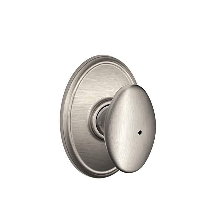 An image related to Schlage F40 SIE House Privacy Satin Nickel Lock