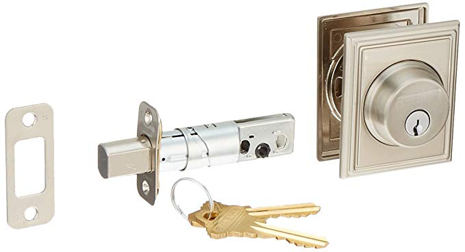 An image related to Schlage B60ADD619 Satin Nickel Lock
