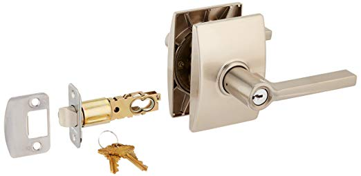 An image related to Schlage F51ALAT619CEN Entry Satin Nickel Lock