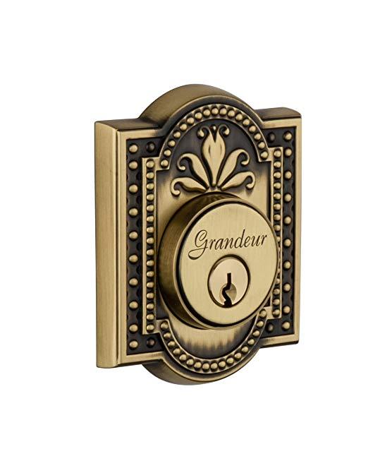 An image of Grandeur PAR-62-VB-KD House Brass Lock | Door Lock Guide