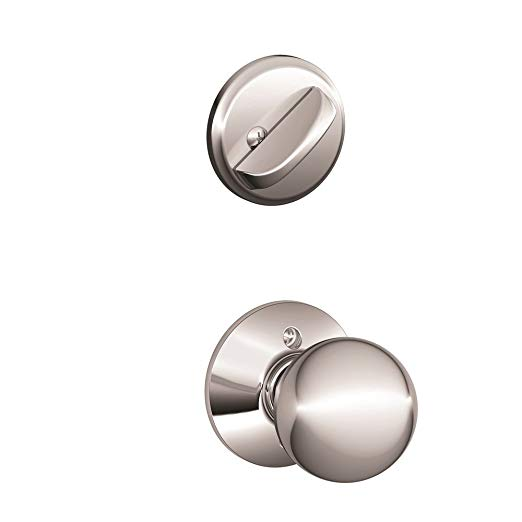 An image related to Schlage F59 ORB 625 Polished Chrome Lock