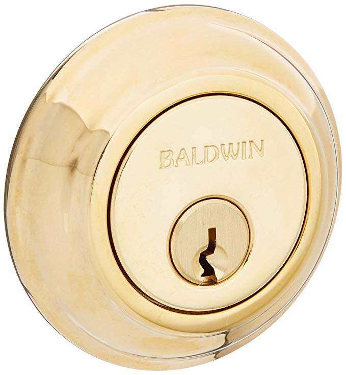 An image of Baldwin 8231031 Patio Lock | Door Lock Guide