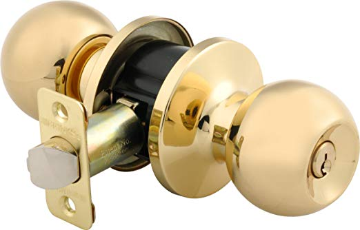 An image related to BRINKS 2707-105 Entry Metal Polished Brass Lock