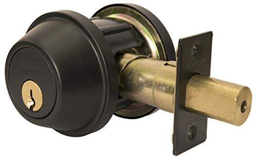 An image of Master Lock DSCHDD10B Oil-Rubbed Bronze Lock