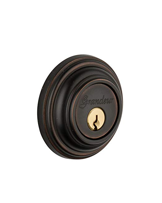 An image of Grandeur GEO-62-TB-KD House Bronze Lock