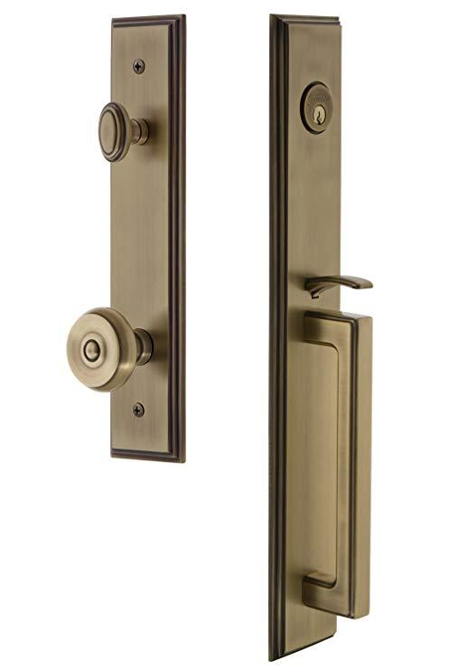 An image related to Grandeur 844791 Brass Lever Lockset Lock