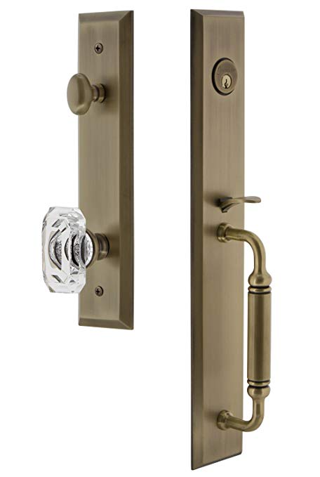 An image related to Grandeur 842534 Brass Lever Lockset Lock