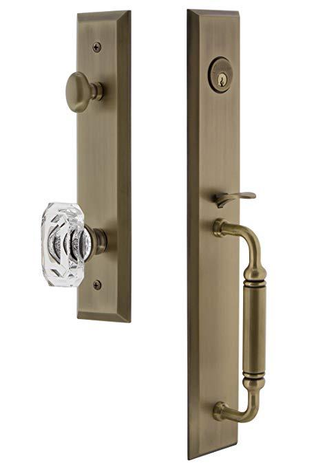 An image of Grandeur 842534 Brass Lever Lockset Lock | Door Lock Guide