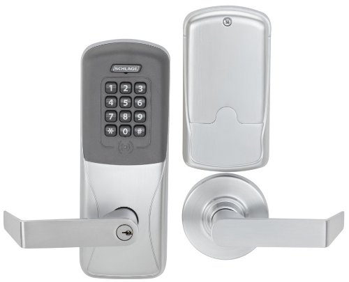 An image of Schlage CO200MS70PRKRHO626 Lever Lockset Lock | Door Lock Guide