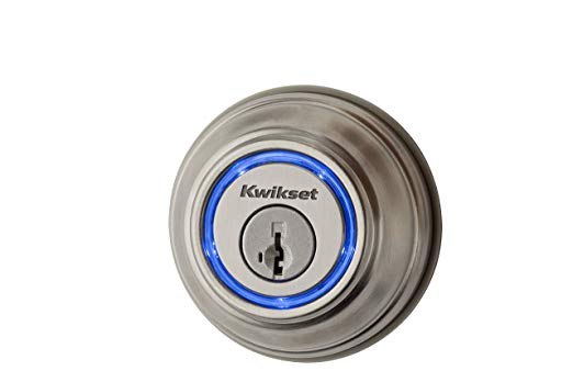 An image related to Kwikset 99250-202 Metal Satin Nickel Bluetooth Smart Home Door Lock