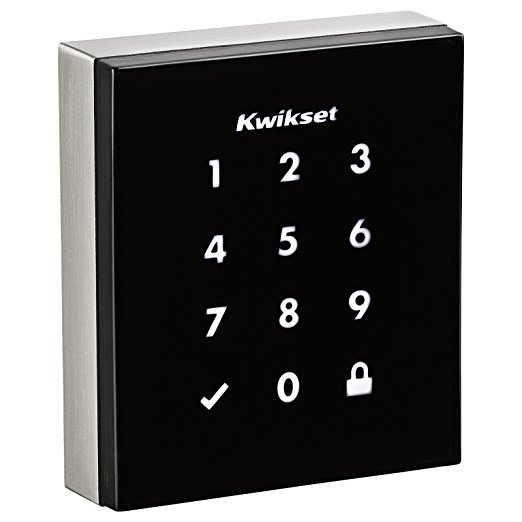 An image related to Kwikset 99530-001 Metal Satin Nickel Touchscreen Lock