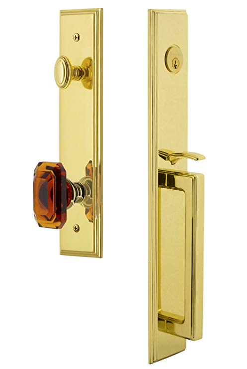 An image of Grandeur 844510 Brass Lever Lockset Door Lock | Door Lock Guide
