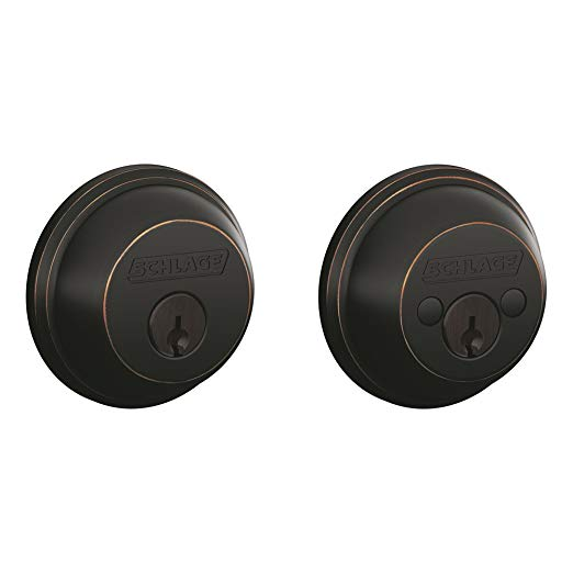 An image related to Schlage B62N716 Aged Bronze Lock
