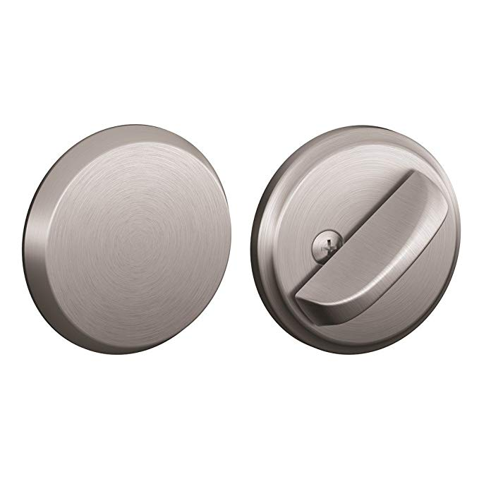 An image related to Schlage B81626 Satin Chrome Lock