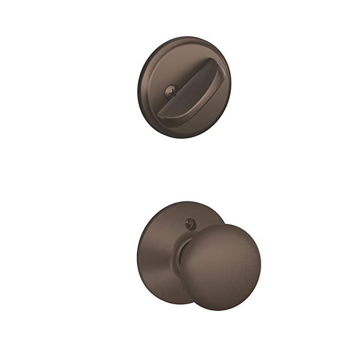 An image related to Schlage F59 PLY 613 Oil-Rubbed Bronze Lock