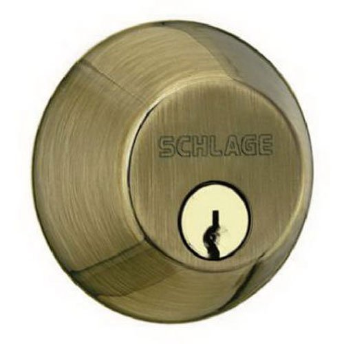 An image of Schlage B62NV609 Brass Lock