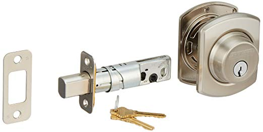 An image related to Schlage B60GRW619 Satin Nickel Lock