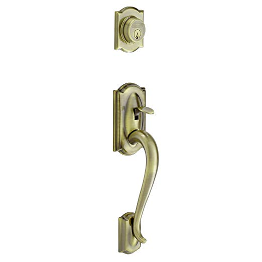 An image related to Schlage F58 CAM 609 Brass Lock