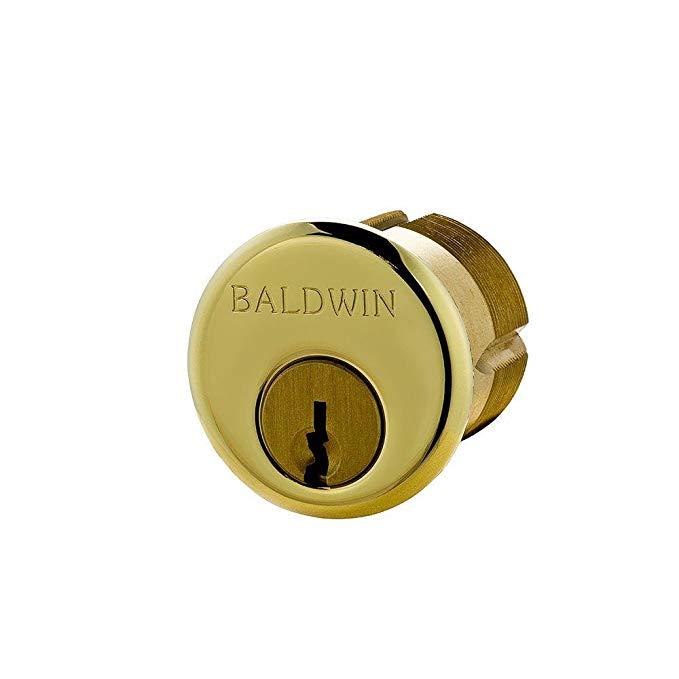 An image of Baldwin 518937 Brass Lock | Door Lock Guide
