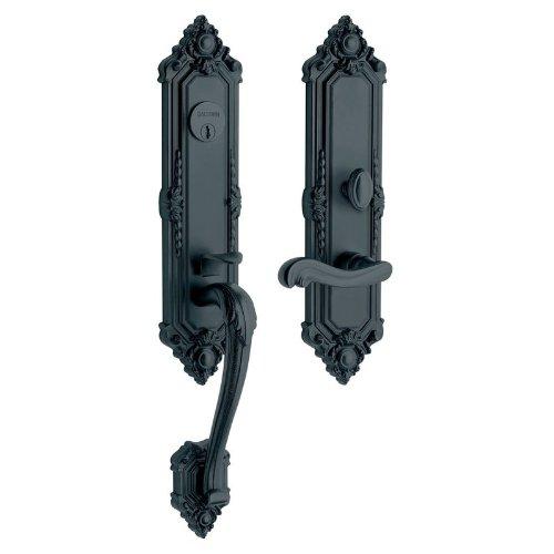 An image of Baldwin 6526102RENT Oil-Rubbed Bronze Lock | Door Lock Guide