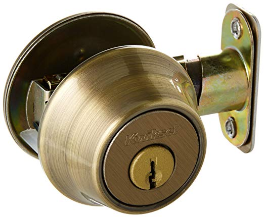An image of Kwikset 96600-024 Brass Lock