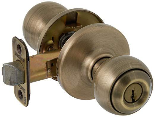 An image of Kwikset 94002-830 Entry Brass Lock