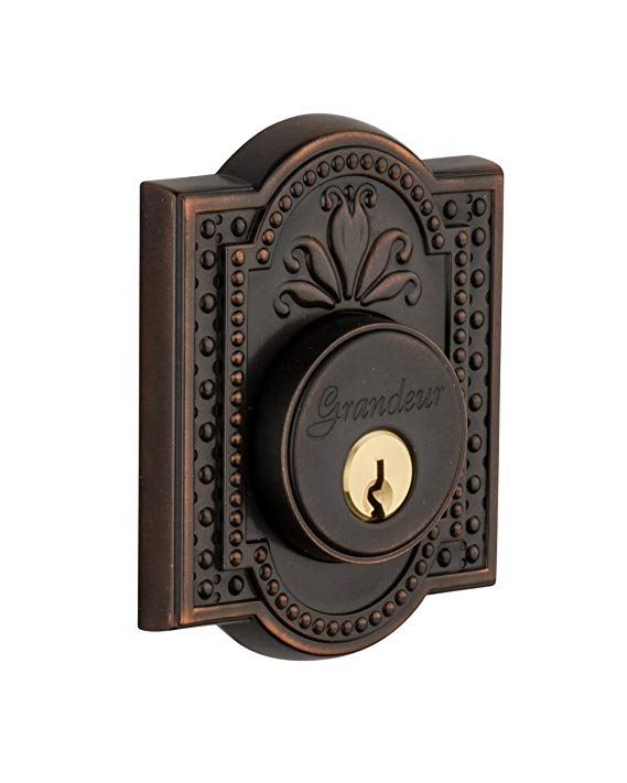 An image related to Grandeur PAR-62-TB-KD House Bronze Door Lock