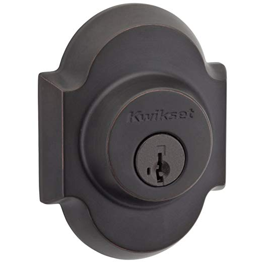 An image related to Kwikset 99850-067 Entry Venetian Bronze Lock