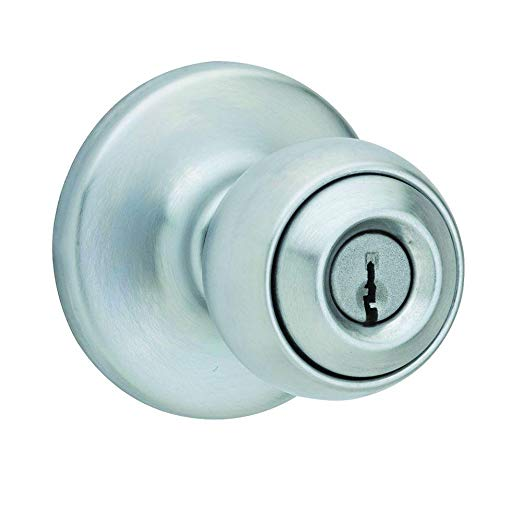 An image related to Kwikset 258321 Entry Satin Chrome Lock