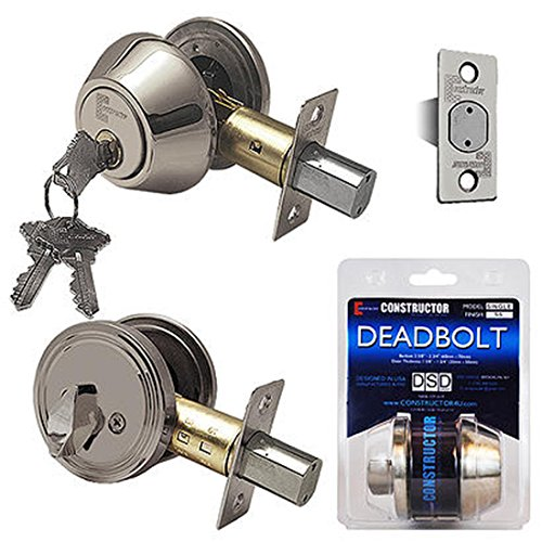 An image of Constructor CON-DBT-SS-S Satin Nickel Lock