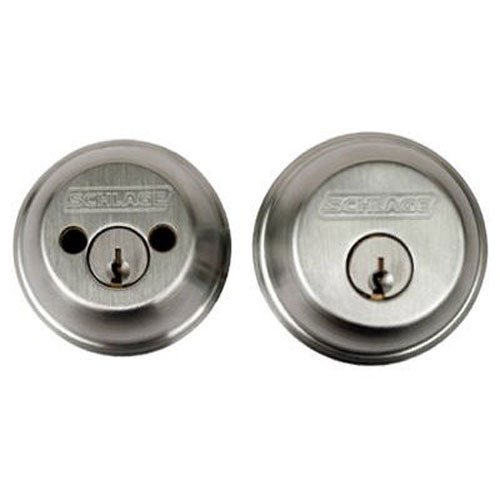 An image related to Schlage B62N626 Polished Chrome Lock