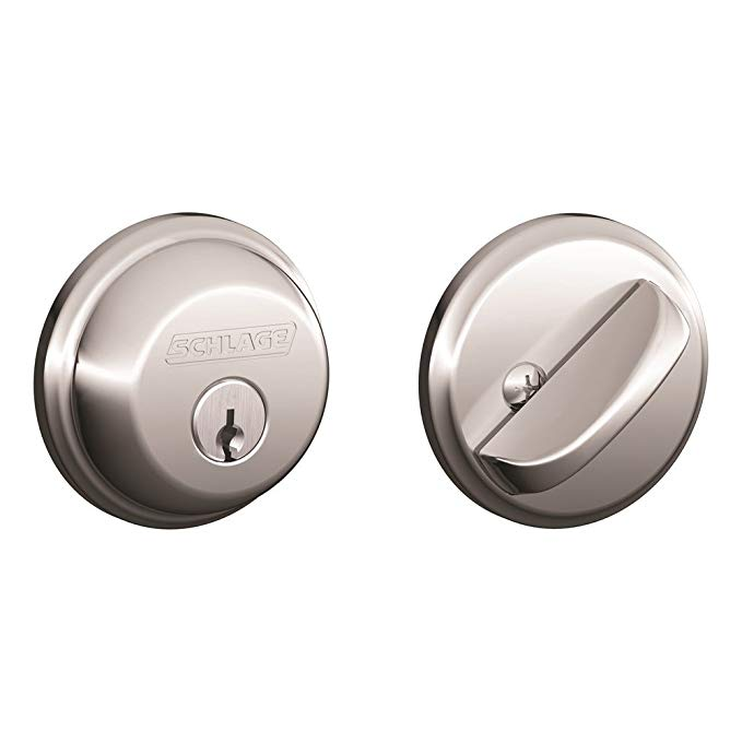 An image related to Schlage B60N625 Chrome Effect Lock