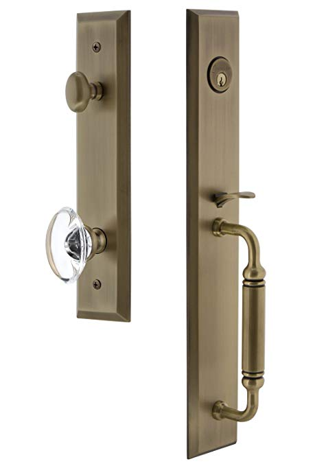 An image related to Grandeur 842794 Brass Lever Lockset Door Lock