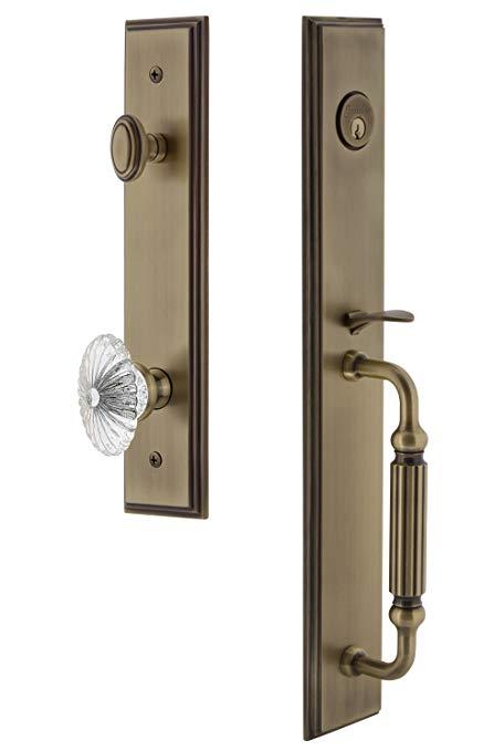 An image related to Grandeur 844854 Brass Lever Lockset Lock
