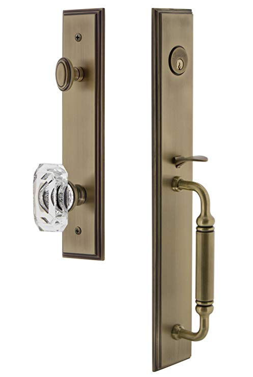An image related to Grandeur 842178 Brass Lever Lockset Lock