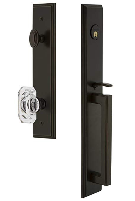 An image related to Grandeur 844598 Bronze Lever Lockset Door Lock