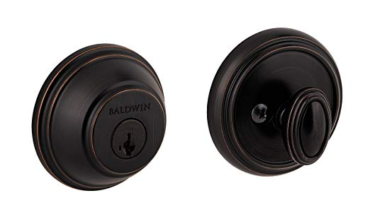An image of Baldwin 93800-009 Zinc Venetian Bronze Lock