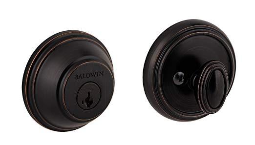 An image related to Baldwin 93800-009 Zinc Venetian Bronze Lock