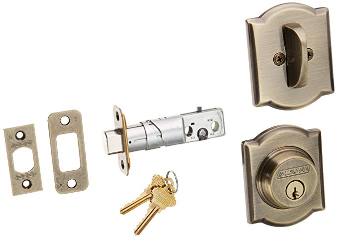 An image related to Schlage B60CAM609 Brass Lock