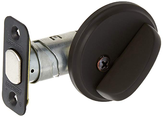 An image related to Schlage B80613 Oil-Rubbed Bronze Lock