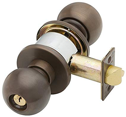 An image of Schlage A53PD ORB 613 Entry Oil-Rubbed Bronze Lock