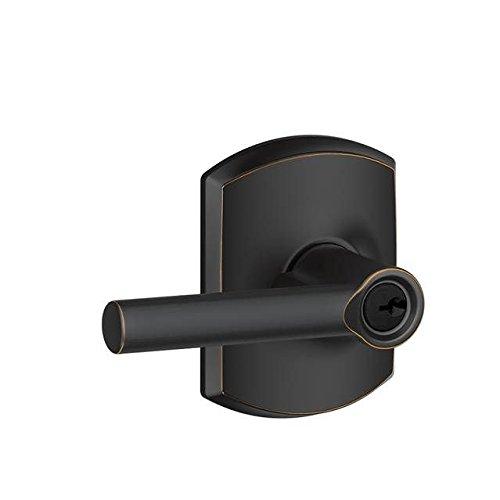 An image of Schlage F51ABRW716GRW Entry Bronze Lock | Door Lock Guide