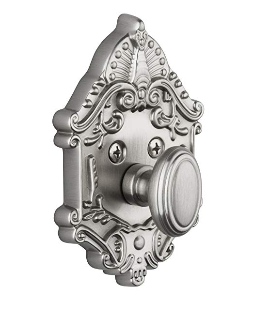 An image of Grandeur GVC-60-SN-KD House Satin Nickel Lock