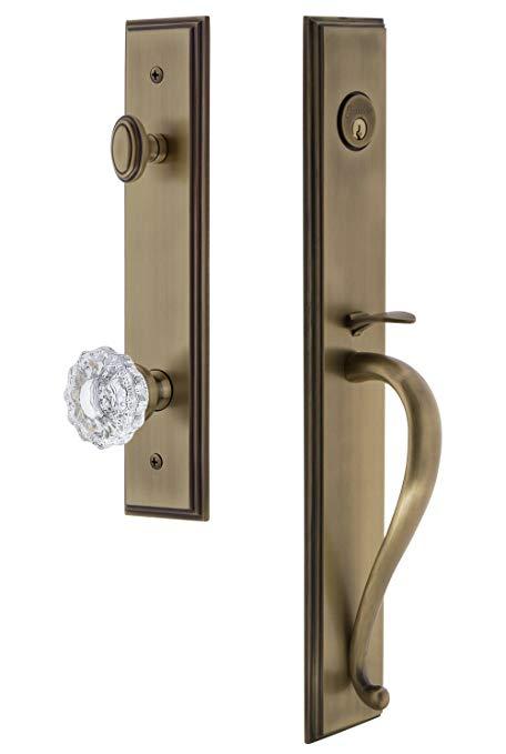 An image of Grandeur 845507 Brass Lever Lockset Door Lock | Door Lock Guide