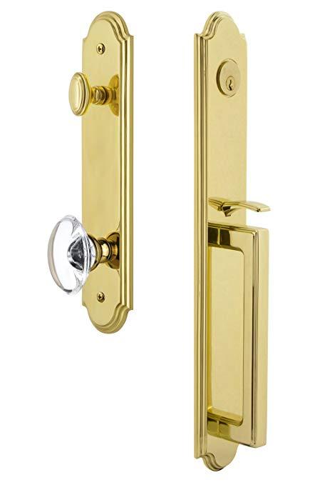 An image of Grandeur 844267 Brass Lever Lockset Lock | Door Lock Guide