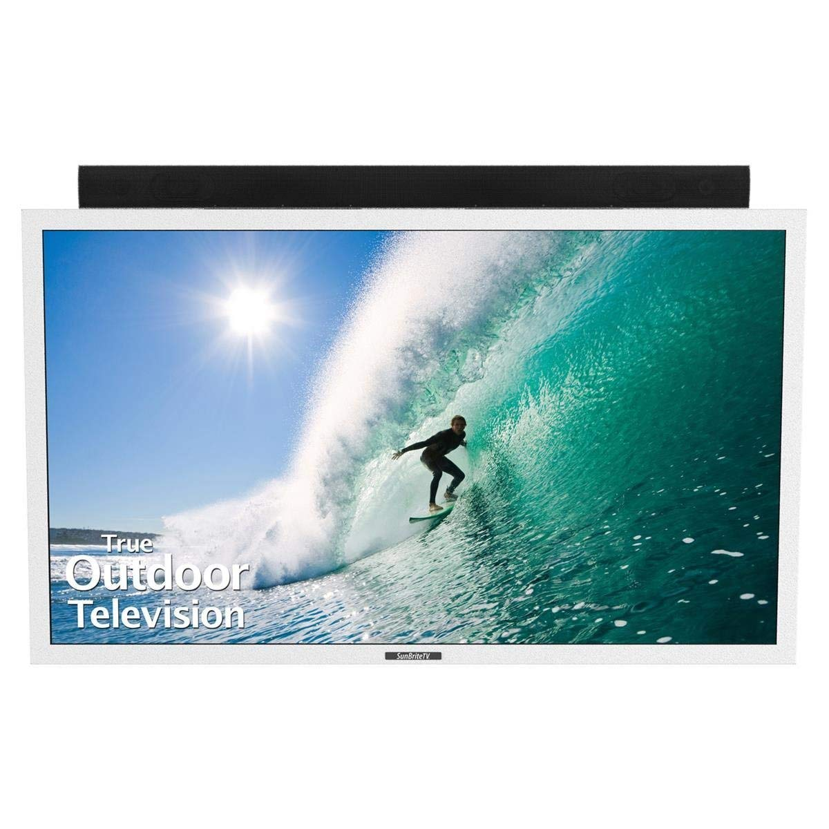 An image of SunBriteTV SB-5518HD-WH 55-Inch FHD LED Outdoor TV