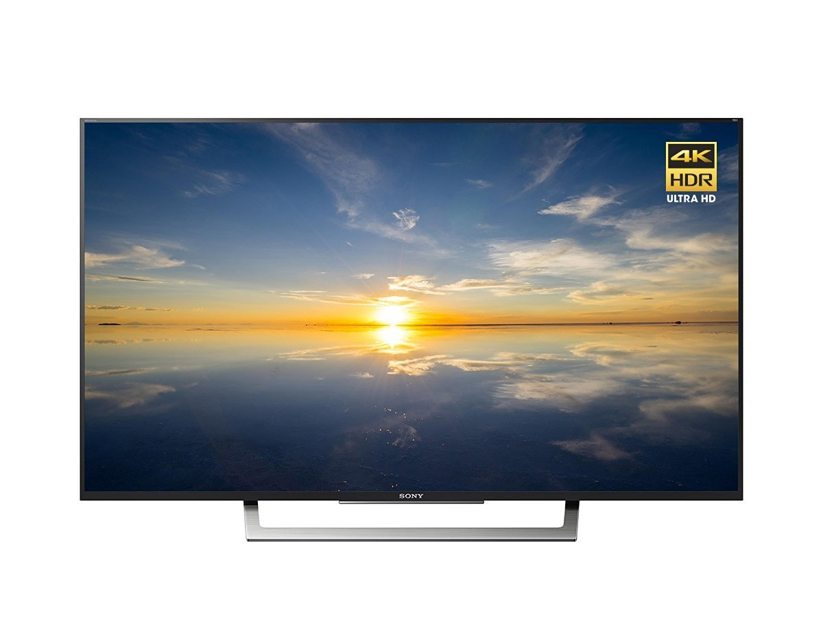 An image of Sony XBR-49X800D 49-Inch HDR 4K LED 60Hz TV with Sony Motionflow XR 240